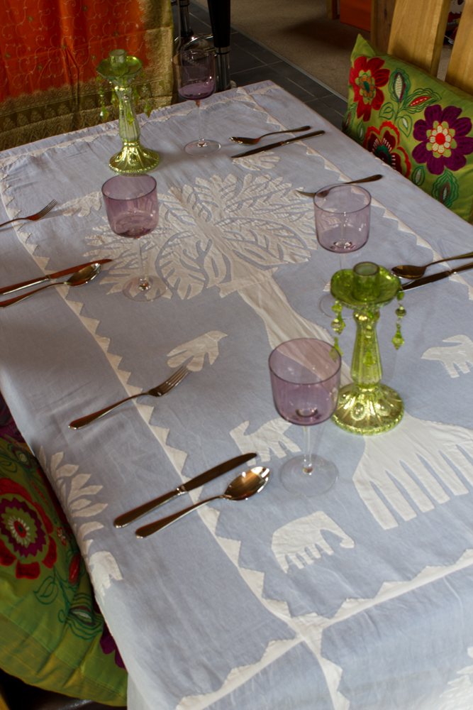 Tree of Life Voile Tablecloth