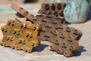 Chhapa printing blocks