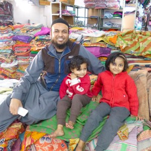 Parvez, clothes and kids