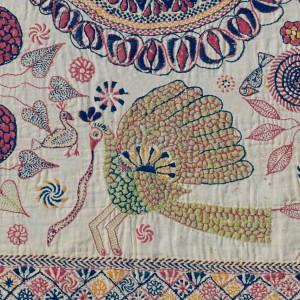 Old Kantha Quilt Detail