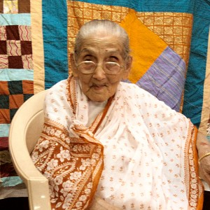 Our elder stateswoman of needlecraft