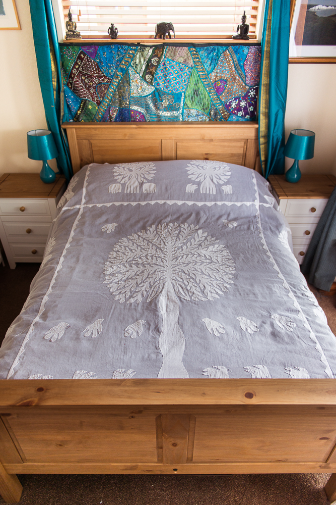 Tree of Life Voile Bedspread