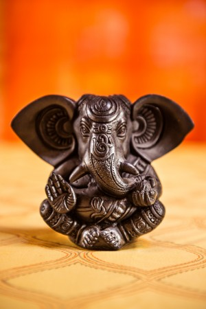 Black Ganesh Statue
