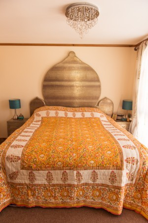 Jaipur Quilt - Yellow Flower