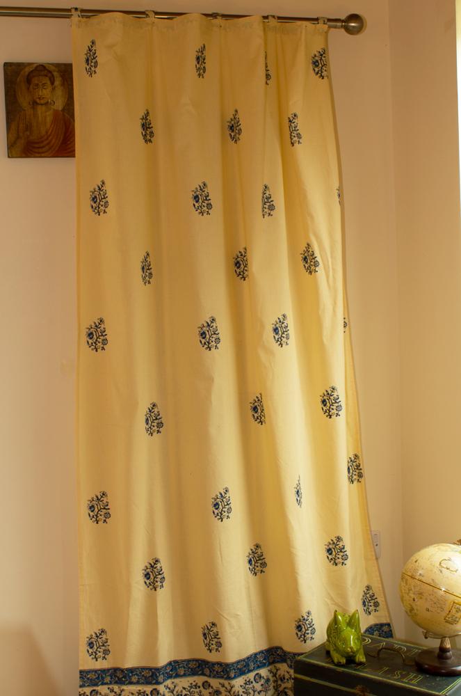 Jaipur Curtain (Marigold)