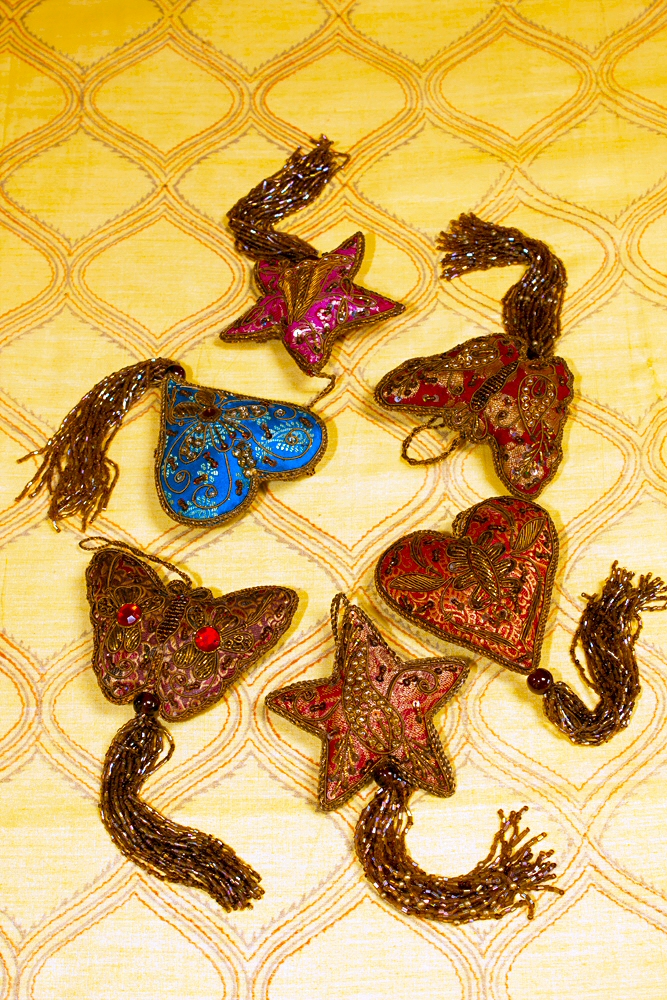Zardosi-work Beaded Hangings