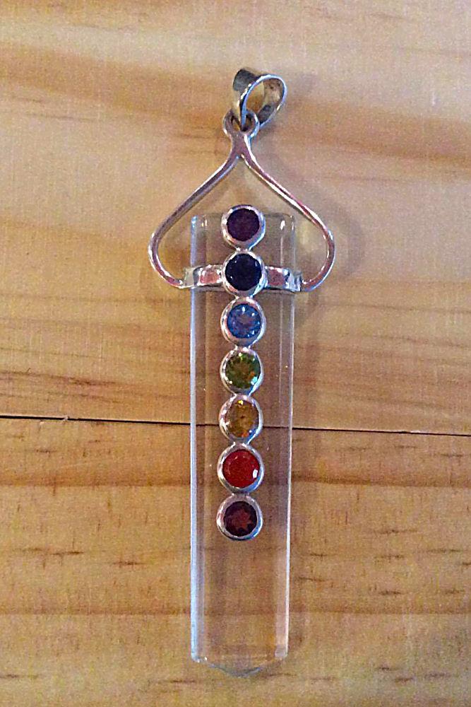 Crystal Wand Pendant