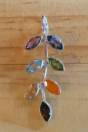 Leaf Chakra Pendant